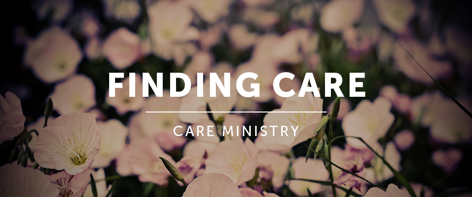 Finding Care