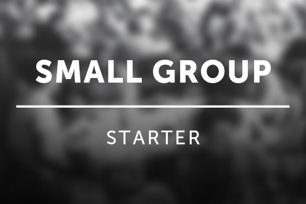 small group starter