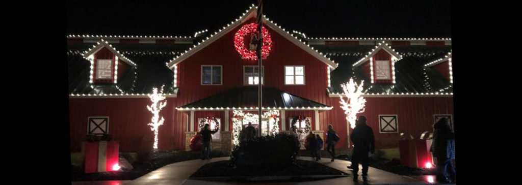 5. See the lights and Budweiser Clydesdales at Warm Springs Ranch.
